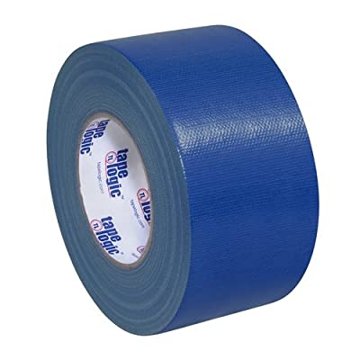 "Tape Logic T988100BLU3P, 10.0 Mil Duct Tape, 3"" x 60 yd, Blue (Pack of 3) by Tape Logic"