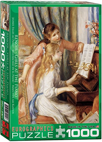 EuroGraphics Girls at Piano by Pierre Auguste Renoir 1000 Piece Puzzle