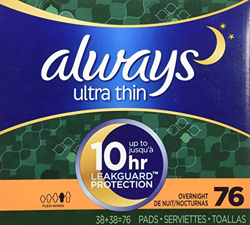 always-ultra-thin-overnight-pads-with-wings-unscented-76-count