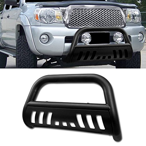 VXMOTOR 2007-2014 Toyota FJ Cruiser Matte Black HD Heavyduty Bull Bar Brush Push Front Bumper Grill Grille Guard