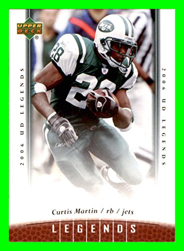 2006 Upper Deck Legends #7 Curtis Martin NEW YORK - New Jets York Martin Curtis