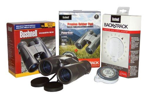 Bushnell 10x42 Powerview RP Jumelles + Compas GPS Kit [BN141042PP1]