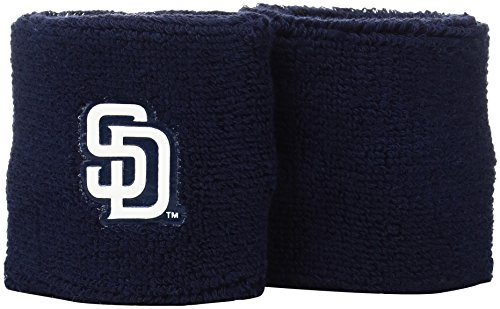 Franklin Sports MLB San Diego Padres Team Wristbands