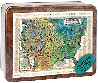 product image for Channel Craft Puzzle Tin Chieftain 550 Piece Jigsaw Puzzle