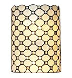 Amora Lighting Tiffany Style AM041WL10 Wall Sconce Lamp 10 In Wide