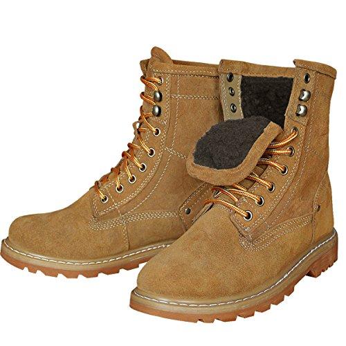 Brandit Gladstone Boots Anthrazit Camel