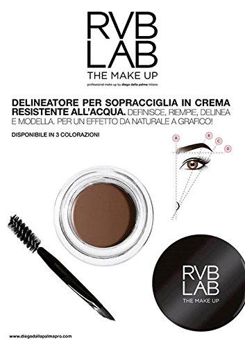 rvb diego dalla palma delineatore sopracciglia eyebrow cream 301 water resistant 4 ml