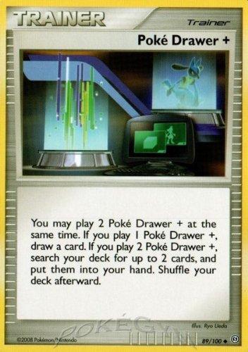 Pokemon Diamond & Pearl Stormfront Single Card Poke Drawer + #89 Uncommon [Toy]