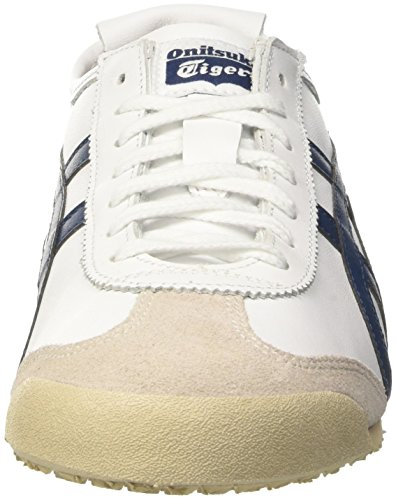 Asics Mexico 66, Zapatillas Unisex Adulto Blanco (White/Poseidon)