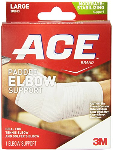 Ace Elbow Brace - ACE Padded Elbow Support, Large