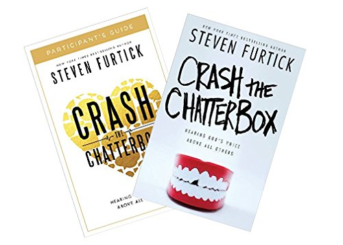 Steven Furtick - Crash the Chatterbox Study Kit (Book + Study Guide)