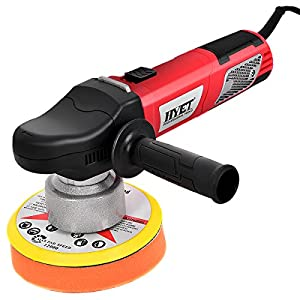 Goplus Random Orbital Polisher Electrical Sander Variable Speed Dual-Action Grinder Buffer Kit For Auto Detail (6 inch)