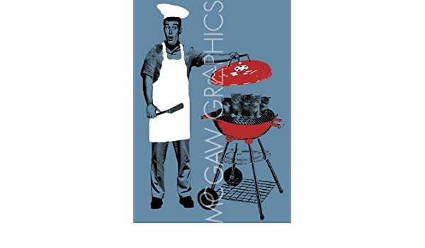 Barbacoa (gatitos en la parrilla) de Jason Laurits Póster: Amazon.es: Hogar