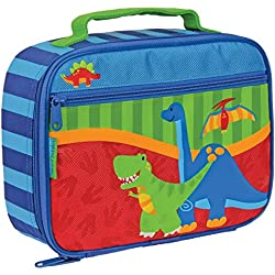 Stephen Joseph SJ-5701-59B- Lonchera con dinosaurio, color rojo, azul y verde