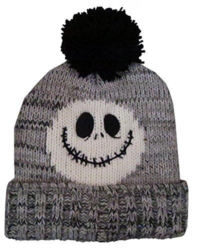 Nightmare Before Christmas Hat (Nightmare Before Christmas Jack Skellington Mens' Beanie Hat - One Size [4014])