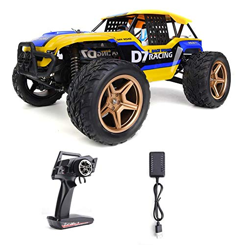Coche de Juguete RC, 1:12 Remote Control Crawler Truck Car 12402-A RC Rock Racing Car 45KM/H Modelo Regalos de Juguete…