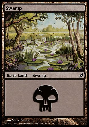 Magic: the Gathering - Swamp (293) - Lorwyn - Foil ()