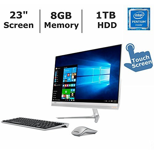 (2017 Newest Lenovo IdeaCentre 510S All-in-One Desktop PC with Wireless Keyboard & Mouse, 23
