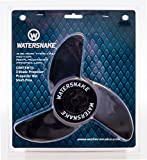 Watersnake 12-Volt 3-Bladed Propeller Kit (Black, 23-inch)