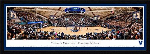Villanova Basketball at Finneran Pavilion - 42x15.5-inch Single Mat, Select Framed Picture by Blakeway Panoramas