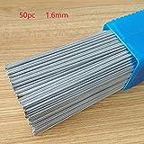 BEYST 50pcs Aluminum Welding Wire,Low Temperature Welding Crack Repair Rods Soldering Brazing Flux Cored,Not Require Solder Powder