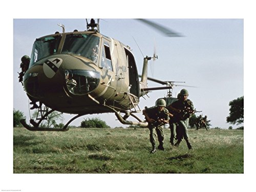 UH-1H Huey Art Print, 40 x 30 inches, used for sale  Delivered anywhere in USA