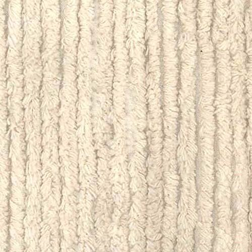 Cloth Cloth Burp Chenille - Richland Textiles AH-398 10 Ounce Chenille Natural Fabric by The Yard,