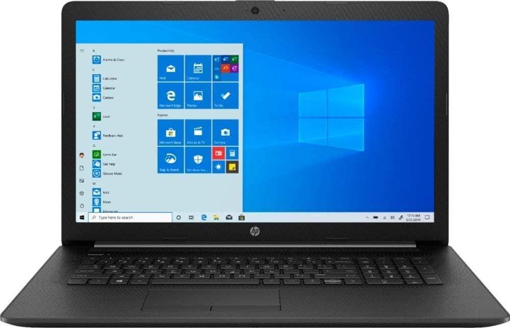"2020 Newest HP 17 17.3"" HD+ Laptop, 10th Gen Intel Quad-Core i5 1035G1 Up to 3.4GHz (Beats i7-7500u), 16GB DDR4 RAM, 256GB SSD+2TB HDD, WiFi, Bluetooth, HDMI, DVD-RW, Windows 10 S + ALLYFLEX Mousepad"