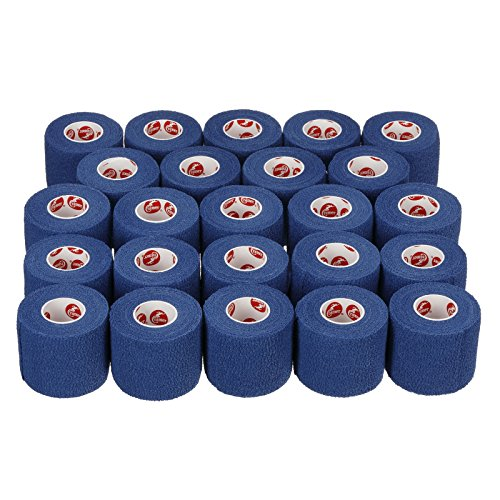 Cramer Eco-Flex Self-Stick Stretch Tape, Cohesive Tape, Flexible Elastic Sports Tape, Athletic Training Supplies, Easy Tear Self-Adherent Bandage Wrap, Bulk Cases, 2