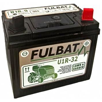 Fulbat - Batería motocultor U1-R32 / U1-R12 12V 32Ah: Amazon.es ...