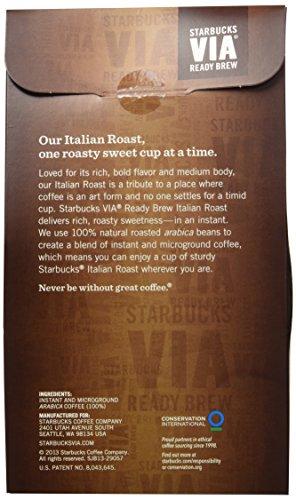 Starbucks VIA® Ready Brew Italian Roast Coffee (50 count)