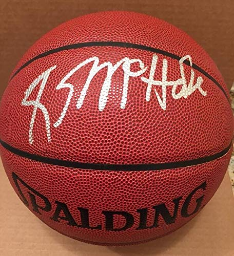 Kevin Mchale Autographed Signed Spalding NBA I/O Basketball Very Rare Boston Celtics ()