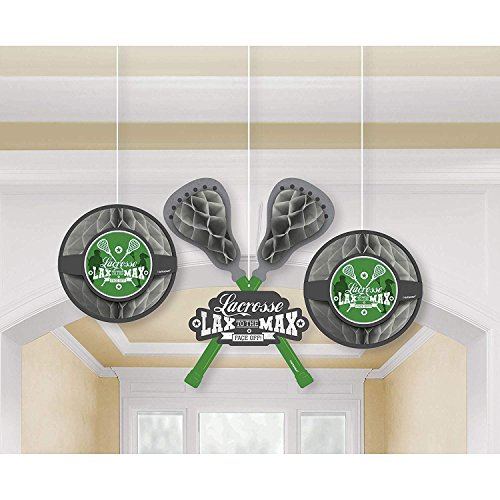 Amscan 181577 Crosse Check Honeycomb Party Decoration, One Size, Multicolor]()
