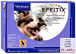 Effitix Topical solution for Dogs 2344.9 lbs. 6 Months