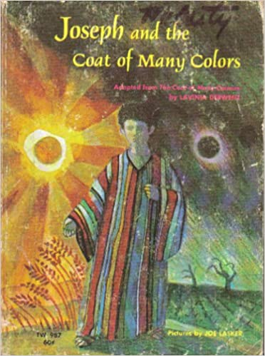 joseph and the coat of many colors lavinia derwent 9780590085519 amazoncom books - Coat Of Many Colors Book