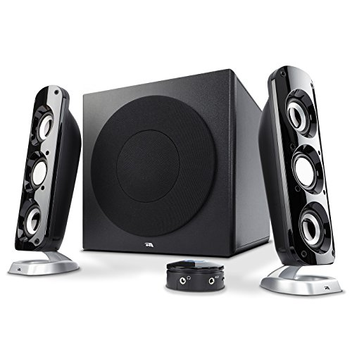 Cyber Acoustics CA-3908 46 Watt 2.1 Speaker System  (Best 2.1 Speakers For Music)