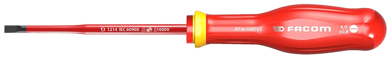 Facom AT5,5X125TVE TOURNEVIS PROTWIST/® SLIM 1000 Volts isol/é 1000 Volts pour vis /à fente