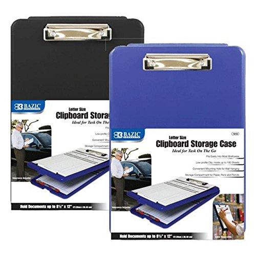 BAZIC Clipboard Storage Case Pack