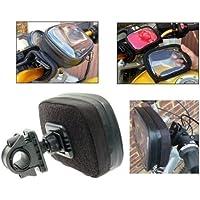 Waterproof GPS SatNav protective case with Bike or Moped Handlebar Mounts (SKU 8998)