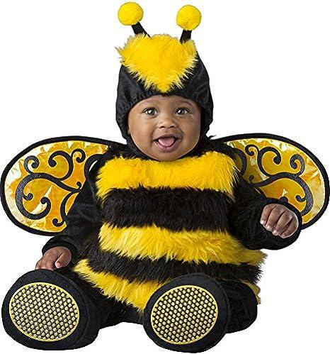 1b62eb9aca08 Costume carnevale ape bebè travestimento carnevale halloween cosplay tuta  neonato tuta copriscarpe cappuccio ali smontabili costume