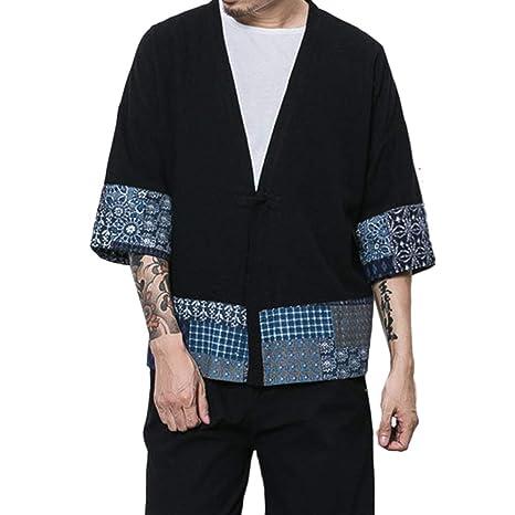 Chaqueta De Haori De Japón Chaqueta para De Hombre Kimono ...