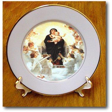 3dRose cp_174232_1 Virgin Painting Porcelain