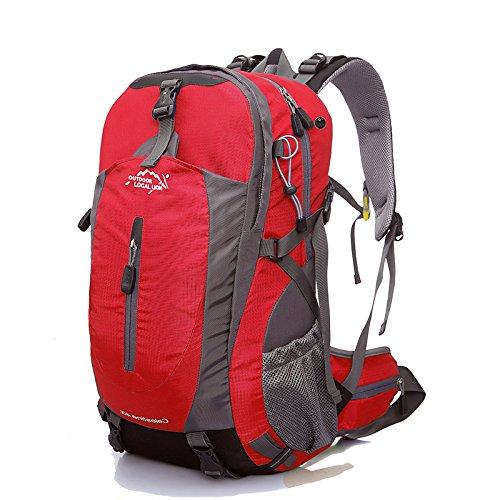 Kits d'alpinisme de sac à dos de sac à dos de plein air de grande capacité de 40L (6 couleurs)