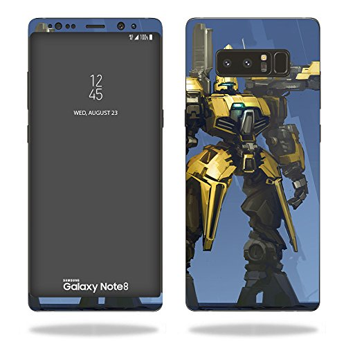 MightySkins Skin Compatible with Samsung Galaxy Note 8 - Dozer | Protective, Durable, and Unique Vinyl Decal wrap Cover | Easy to Apply, Remove, and Change Styles | Made in The USA