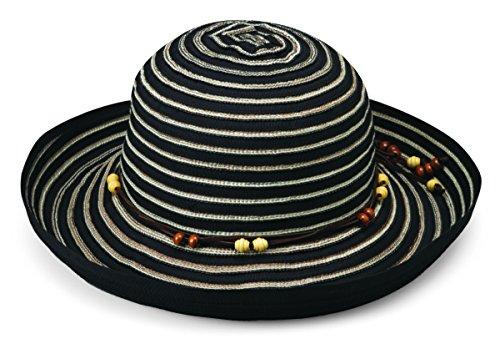 (Wallaroo Women's Breton Sun Hat - UPF 50+ - Packable,)