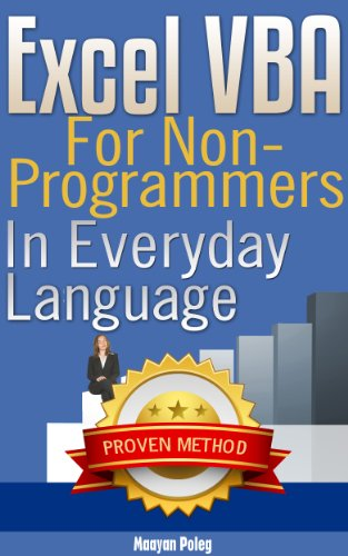 Download Excel VBA: for Non-Programmers (Programming in Everyday Language) Pdf