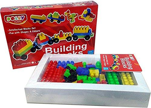 bonkerz skill development kids dolly plastic building blocks for kids  Multi color