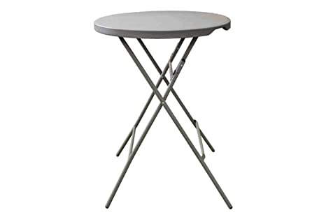 Mesa alta redonda 80x110 cm de cocktail para celebraciones, mesa ...