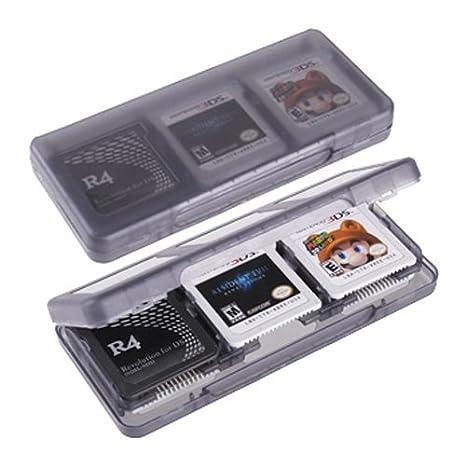 VCOER luz caja 3DS cartucho de juego gris 3DSLL cartucho 6 ...