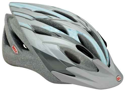 Chloe Mountain Girl Sassy Womens Bike Helmet, Gray Blue - Kids Cottonwood
